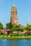 Wat Phra Ram nel parco storico di Ayutthaya, Tailandia Immagine Stock Libera da Diritti