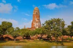 Wat Phra Ram Temple in Ayuthaya Historical Park, Thailand Stock Photo