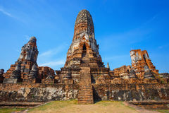 Wat Phra Ram Temple in Ayuthaya Historical Park, Thailand Stock Image