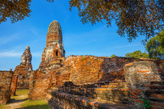 Wat Phra Ram Temple in Ayuthaya Historical Park, Thailand Royalty Free Stock Photo
