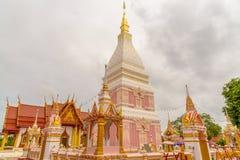 Wat Phra That Renu Nakhon-tempel Royalty-vrije Stock Foto
