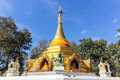Wat Phra That Saeng Hai, Pagoda Shan style Stock Photos