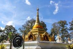 Wat Phra That Saeng Hai, Pagoda Shan style Royalty Free Stock Photos