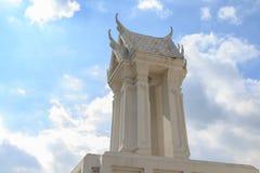 Wat phra samut chedi at Phra Samut Chedi in Samut Prakan Stock Photography