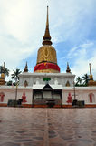 Wat phra that sawi Temple at Chumphon in thailand Stock Images
