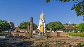 Wat Phra Si拉塔纳Mahathat或Wat亚伊是佛教寺庙 库存照片