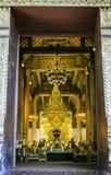 Wat Phra That Si Chom-Leren riem Royalty-vrije Stock Afbeeldingen