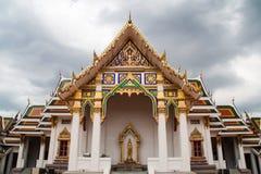 Wat Phra Si Mahathat教堂  免版税库存照片