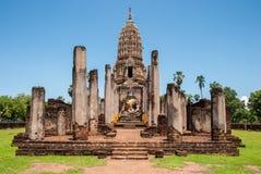 Wat Phra Si Mahathat Royaltyfria Bilder