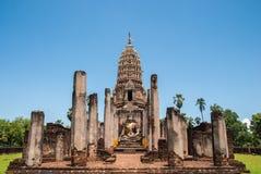 Wat Phra Si Mahathat Arkivfoto
