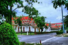 Wat Phra Si Mahathat Bang Khen fotografie stock