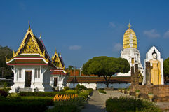Wat Phra Si Ratana Mahathat Stock Photo