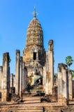 Wat Phra Si Ratana Mahathat in Si Satchanalai, Thailand Stock Photo