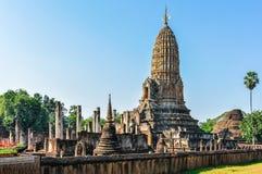 Wat Phra Si Ratana Mahathat w Si Satchanalai, Tajlandia Zdjęcie Royalty Free