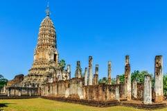 Wat Phra Si Ratana Mahathat w Si Satchanalai, Tajlandia Zdjęcie Stock