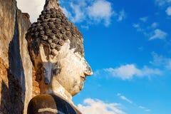 Wat Phra Si Rattana Mahathat, Chaliang przy Si Satchanalai Dziejowym parkiem -, UNESCO światowego dziedzictwa miejsce wewnątrz, S Obrazy Stock