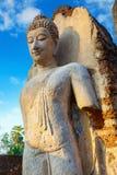 Wat Phra Si Rattana Mahathat, Chaliang przy Si Satchanalai Dziejowym parkiem -, UNESCO światowego dziedzictwa miejsce Fotografia Royalty Free