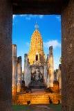 Wat Phra Si Rattana Mahathat - Chaliang at Si Satchanalai Historical Park, a UNESCO World Heritage Site in Sukhothai, Thailand Stock Photography