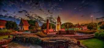 Wat Phra Si Rattana Mahathat Phitsanulok Fotografia Stock Libera da Diritti