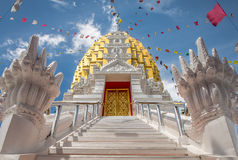 Wat Phra Si Rattana Mahathat Phitsanulok in Tailandia Fotografie Stock Libere da Diritti