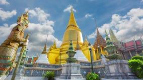 Wat Phra Si Rattana Satsadaram or wat phra kaew beautiful architecture, historic attractions stock video