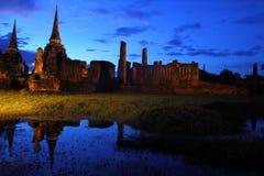 Wat Phra Si San Phet, Ayutthaya, Tailândia Imagens de Stock