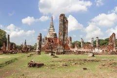 Wat Phra Si San Phet Ayutthaya Tailandia Imágenes de archivo libres de regalías