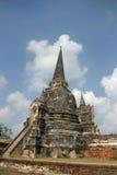 Wat phra si sanphet在ayutthaya 免版税库存图片