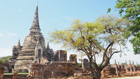 Wat Phra Si Sanphetวัดพระศรีสรรเพชญ์ Royalty Free Stock Images