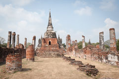 Wat Phra Si Sanphet Stockbild
