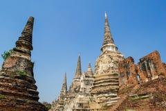 Wat Phra Si Sanphet Стоковая Фотография