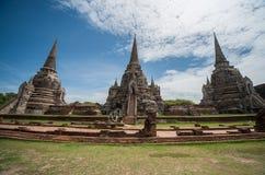 Wat Phra Si Sanphet Fotografía de archivo libre de regalías