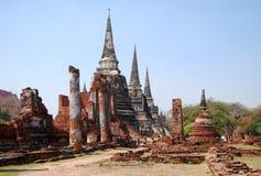 Wat Phra Si Sanphet. Ayutthaya Stock Image