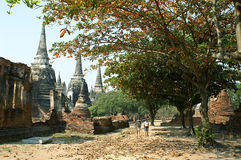 Wat Phra Si Sanphet immagini stock