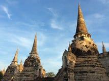 Wat Phra Si Sanphet Fotografia Stock Libera da Diritti