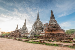 Wat Phra SI Sanphet Photo stock