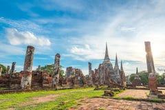 Wat Phra Si Sanphet Lizenzfreies Stockbild