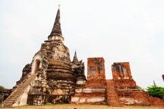 Wat Phra Si Sanphet, Ayuthaya Royalty Free Stock Images