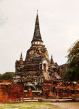 Wat Phra Si Sanphet, Ayuthaya Stock Images