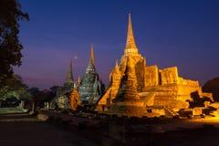 Wat Phra Si Sanphet , Ayuthaya, Thailand Royalty Free Stock Image