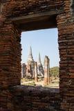 Wat Phra Si Sanphet, Ayutthaya, Таиланд Стоковое фото RF