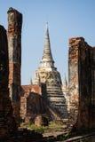 Wat Phra Si Sanphet, Ayutthaya, Таиланд Стоковая Фотография