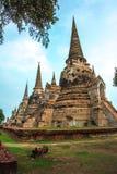 Wat Phra Si Sanphet, Ayutthaya, Таиланд Стоковая Фотография RF