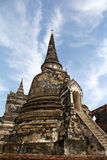 Wat Phra Si Sanphet, Ayutthaya Fotografia de Stock Royalty Free