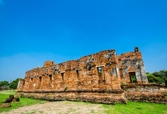 Wat Phra Si Sanphet, Ayutthaya Royaltyfria Bilder