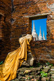 Wat Phra Si Sanphet, Ayutthaya Royaltyfria Foton