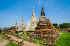 Wat Phra Si Sanphet, Ayutthaya Royaltyfri Fotografi