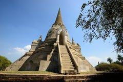 Wat Phra Si Sanphet, Ayutthaya Stockbild