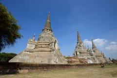 Wat Phra Si Sanphet, Ayutthaya Стоковое Изображение