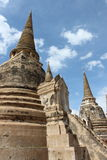 Wat Phra Si Sanphet. Ayutthaya historical park, Royalty Free Stock Photo